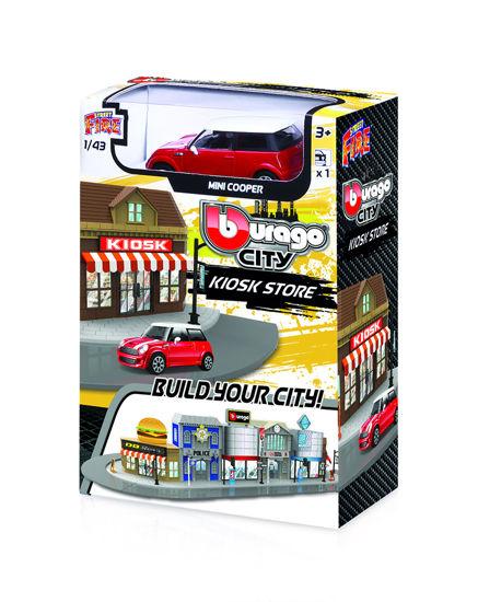 Obrázek z Bburago 1:43 BBURAGO CITY, Kiosk Store