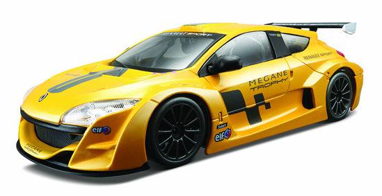 Obrázek z Bburago 1:24 Renault Mégane Trophy Metallic Yellow