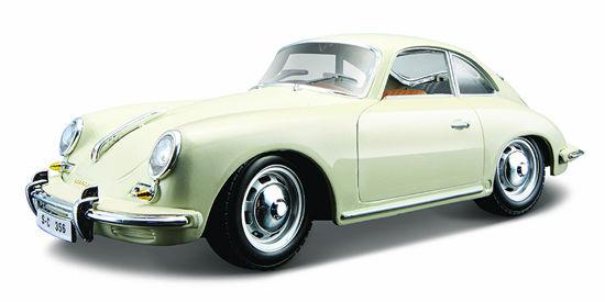Obrázek z Bburago 1:24 Porsche 356B Coupe (1961) Ivory
