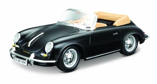 Obrázek z Bburago 1:24 Porsche 356 B Cabriolet Black