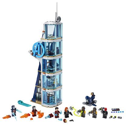 Obrázek LEGO Super Heroes 76166 Boj ve věži Avengerů