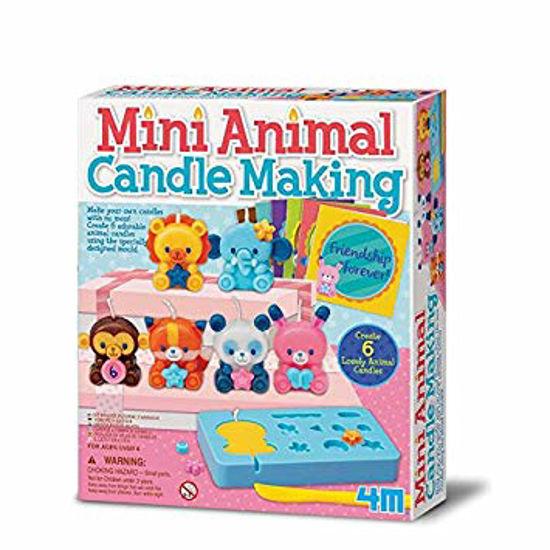 Obrázek z Výroba svíček - mini zvířátka
