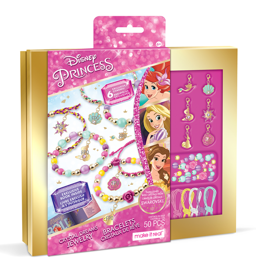 Obrázek z Výroba náramku Disney Princess Swarovski