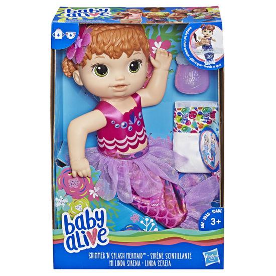 Obrázek z Baby Alive zrzavá mořská panna