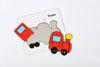 Obrázek z Vybarvovací puzzle doprava