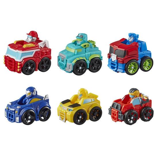 Obrázek z Transformers Rescue Bot závodní vozidlo