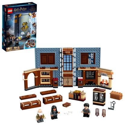 Obrázek LEGO Harry Potter 76385 Kouzelné momenty z Bradavic: Hodina kouzelných formulí