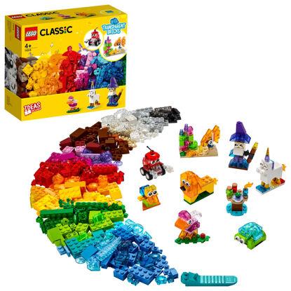 Obrázek LEGO Classic 11013 Průhledné kreativní kostky