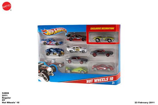 Obrázek z Hot Wheels ANGLIČÁK 10 kusů