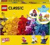 Obrázek z LEGO Classic 11013 Průhledné kreativní kostky