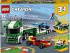Obrázek z LEGO Creator 31113 Kamion pro přepravu závodních aut
