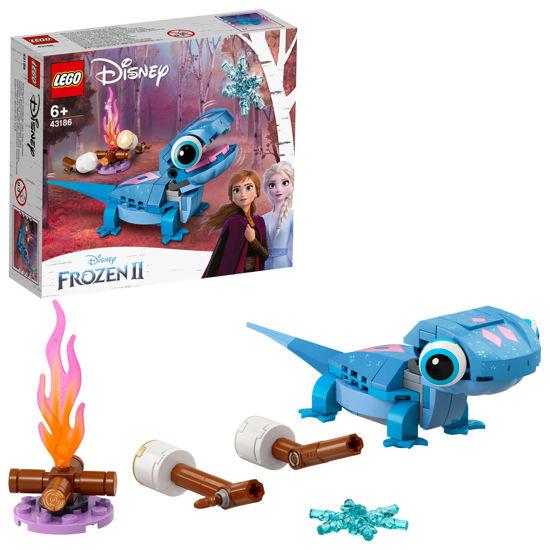 Obrázek z LEGO Disney Princess 43186 Mlok Bruni – sestavitelná postavička