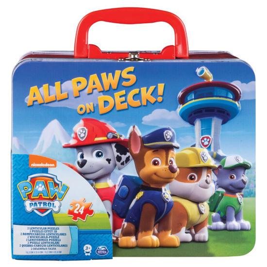 Obrázek z PAW PATROL puzzle v plachovém kufříku