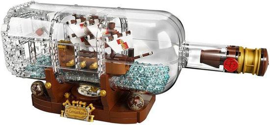 Obrázek z LEGO Ideas 92177 Loď v láhvi