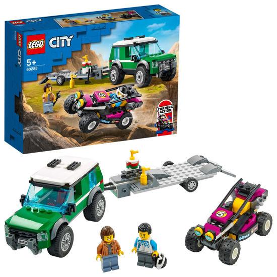 Obrázek z LEGO City 60288 Transport závodní buginy