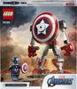 Obrázek z LEGO Super Heroes 76168 Captain America v obrněném robotu