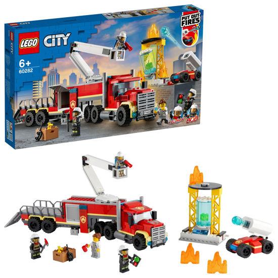 Obrázek z LEGO City 60282 Velitelská jednotka hasičů