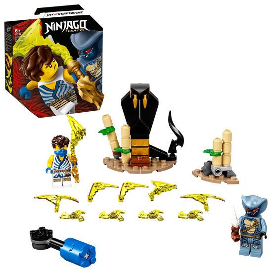Obrázek z LEGO Ninjago 71732 Epický souboj – Jay vs. Serpentine