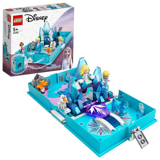 Obrázek z LEGO Disney Princess 43189 Elsa a Nokk a jejich pohádková kniha dobrodružství