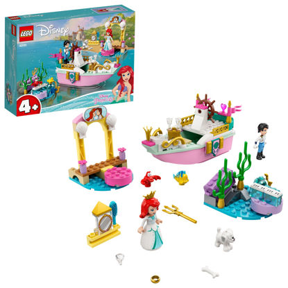 Obrázek LEGO Disney Princess 43191 Arielina slavnostní loď
