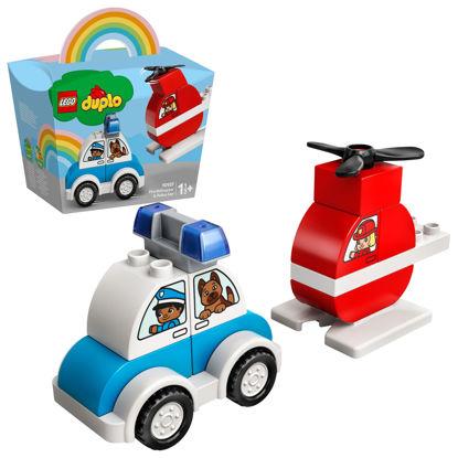 Obrázek LEGO Duplo 10957 Hasičský vrtulník a policejní auto