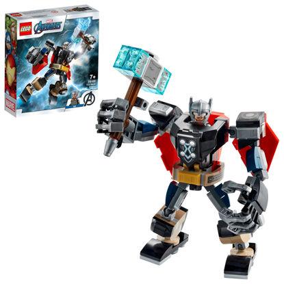 Obrázek LEGO Super Heroes 76169 Thor v obrněném robotu