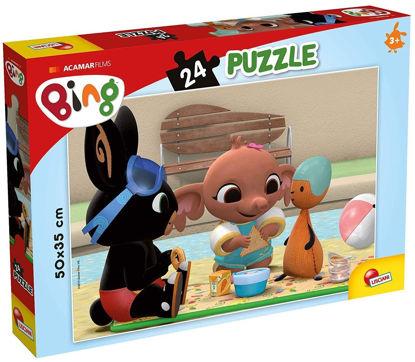 Obrázek BING - Piknik puzzle 24 dílků