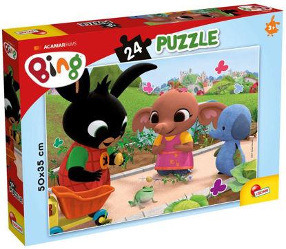 Obrázek BING - Žába puzzle 24 dílků