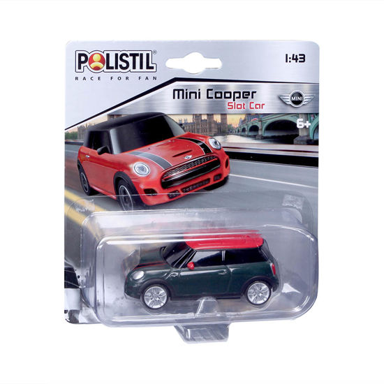 Obrázek z Polistil Mini Cooper Slot car 1:43 černé