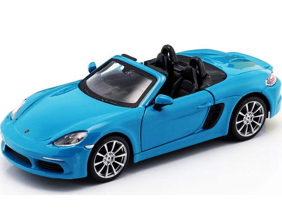 Obrázek z Bburago 1:24 Plus Porsche 718 Boxster Blue