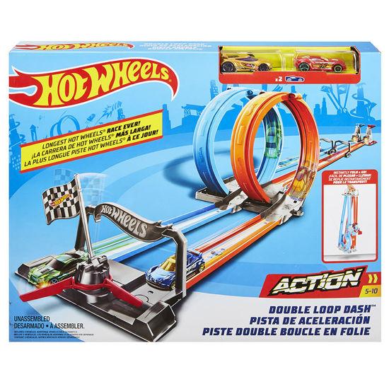 Obrázek z Hot Wheels DVOJITÁ SMYČKA