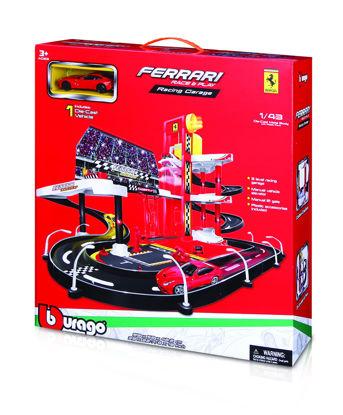 Obrázek Bburago 1:43 Ferrari Race & Play garáž s autíčkem