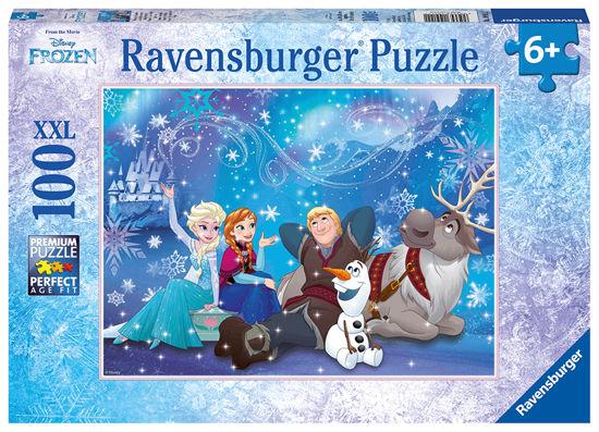 Obrázek z Puzzle Ledové království 100 dílků XXL
