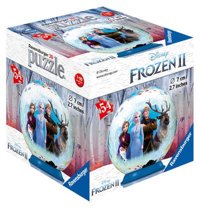 Obrázek Ledové království 2 - 3D puzzleball  54 dílků