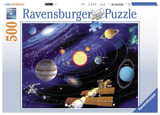 Obrázek z Puzzle Planetární soustava 500 dílků