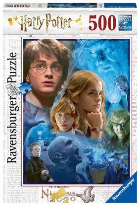 Obrázek Puzzle Harry Potter v Bradavicích 500 dílků