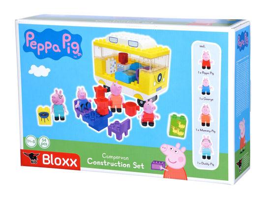 Obrázek z PlayBig BLOXX Peppa Pig Karavan s příslušenstvím