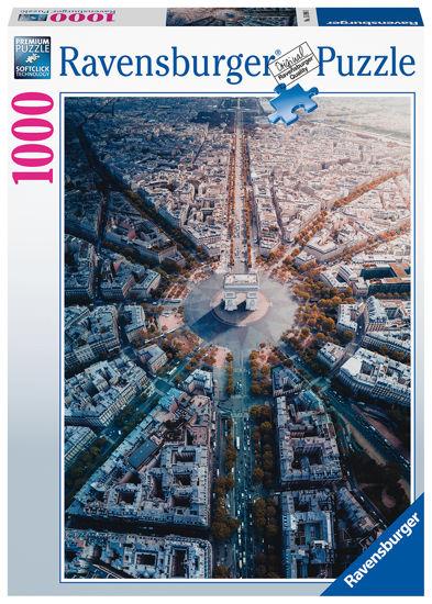 Obrázek z Paříž  puzzle 1000 dílků