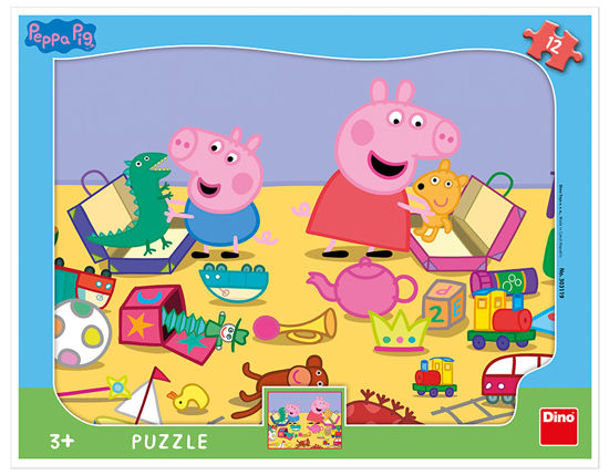 Obrázek z Puzzle PEPPA PIG si hraje