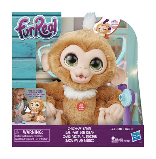 Obrázek z FurReal Friends Nemocná opička
