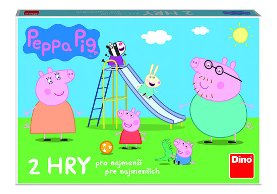 Obrázek z PEPPA PIG POJĎ SI HRÁT a Skluzavky, hra