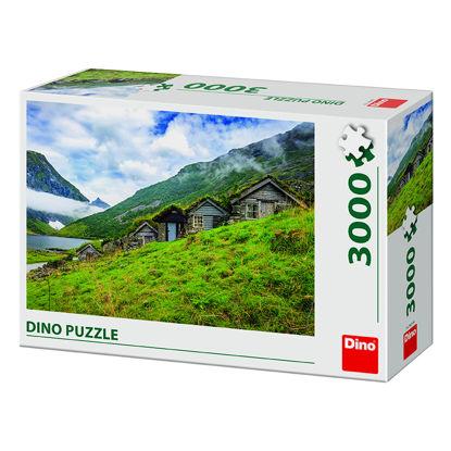 Obrázek NORANGSDALEN VALLEY 3000 Puzzle NOVÉ