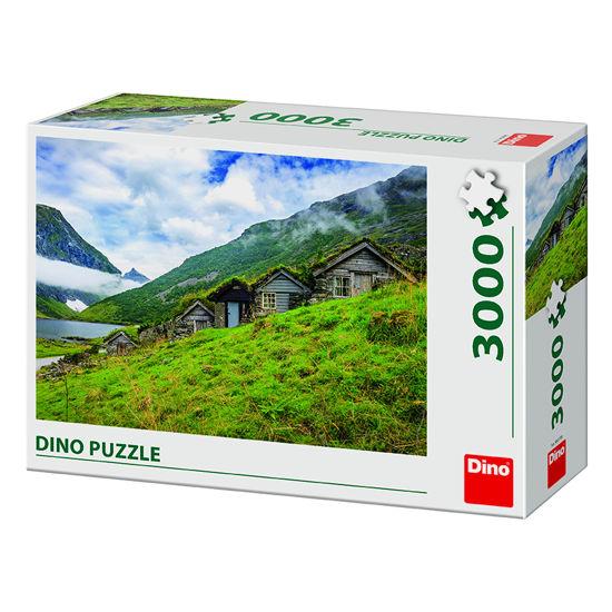 Obrázek z NORANGSDALEN VALLEY 3000 Puzzle NOVÉ