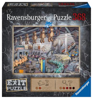 Obrázek Exit Puzzle: V továrně na hračky 368 dílků