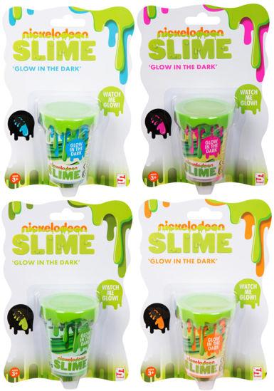 Obrázek z Nickelodeon sliz svítící ve tmě