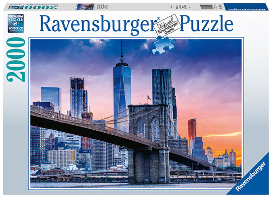 Obrázek z Puzzle New York s mrakodrapy 2000 dílků