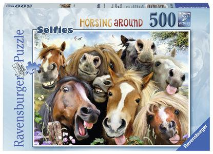 Obrázek Puzzle S koňmi 500 dílků