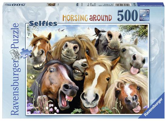 Obrázek z Puzzle S koňmi 500 dílků
