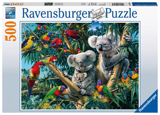 Obrázek z Puzzle Koaly na stromě 500 dílků