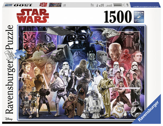 Obrázek z Puzzle Vesmír Star Wars 1500 dílků